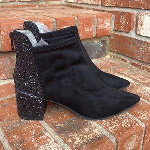 Adrianna Papell Honey Pump Block Heel Ankle Bootie